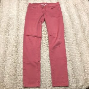 CELEBRITY PINK Dark High Rise Ankle Skinny Jeans Retail $58